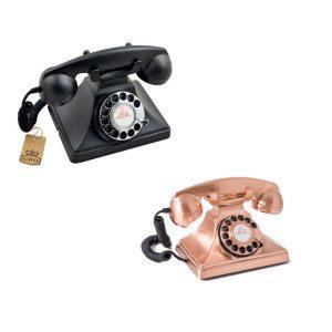 Nostalgisches Telefon im Design der 50er