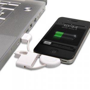 Oplader-nøglering til Apple-produkter