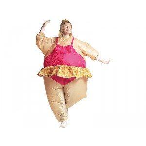 Oppusteligt ballerinakostume