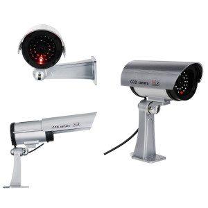 Overvågningskamera-attrap