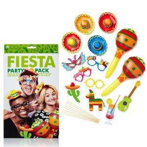 Partysæt i fiesta-stil
