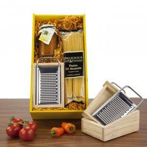Geschenkset Parmesanreibe