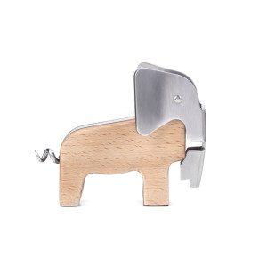 Proptrækker formet som en elefant