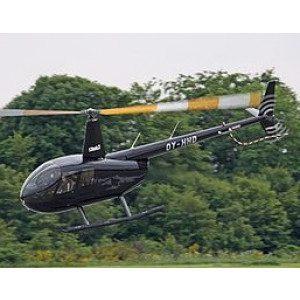 Rundflyvning i helikopter for 3 personer - Aalborg