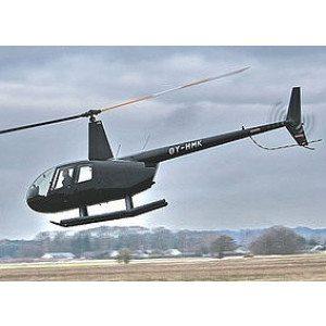 Rundflyvning i helikopter for 3 personer - Sønderborg