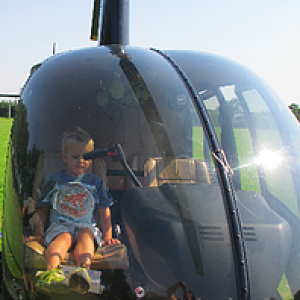 Rundflyvning i helikopter for 3 personer - Vejle