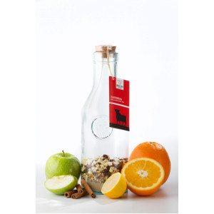 Sangria-mix på glasflaske