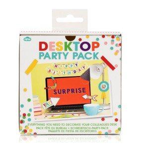Schreibtisch-Party-Set