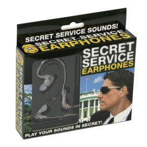 Secret Service-høretelefoner