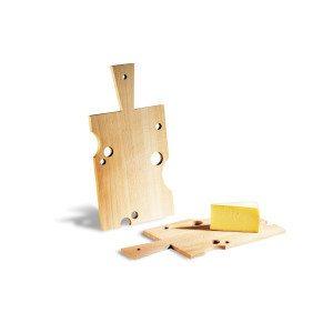 Serveringsbræt med ostehuller