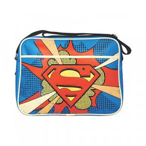 Skuldertaske med Superman-logo
