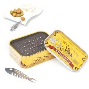 Snackgafler i en sardindåse
