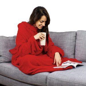 Snuggy - tæppe med ærmer