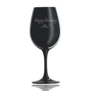 Verre à vin personnalisé noir - Schott Zwiesel