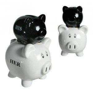 Sparen hoch 2 - Die Spardose für Paare