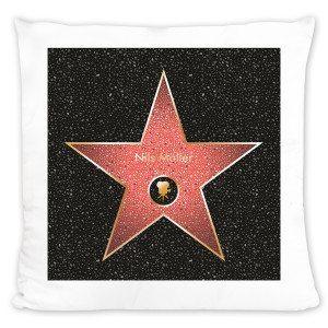 Star of Fame - pude med navn