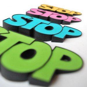 STOP-dørstopper