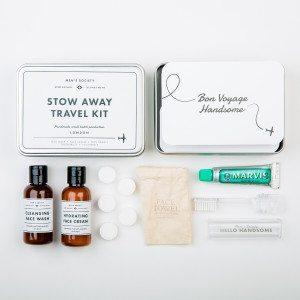 Stow away – Retro-Waschset für den Mann - Vollansicht