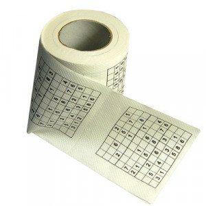 Sudoku-toiletpapir