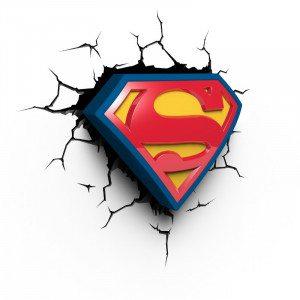 Superman - 3D-lampe