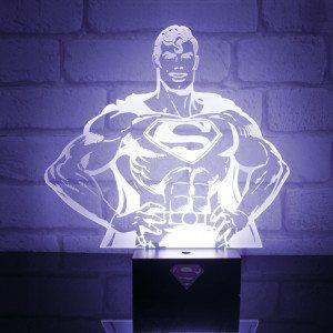 Superman-lampe