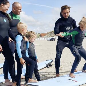 Surf introduktionskursus for 1 person - Løkken