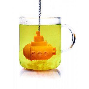 Teæg formet som en ubåd
