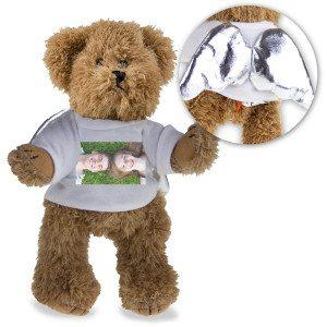 """Teddybär """"Schutzengel"""" mit personalisierbarem Foto"""