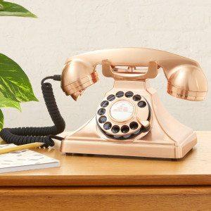 Telefon i retro-design