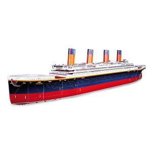 Titanic som 3D puslespil