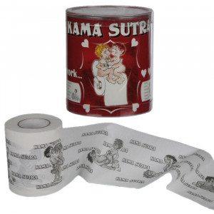 Toiletpapir med Kamasutra-motiver