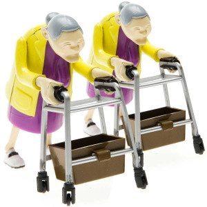 Træk-op-bedstemor i dobbeltpakke