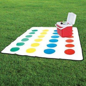 Twister-picnictæppe