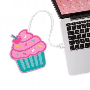 USB-kopvarmer - cupcake eller doughnut