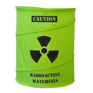 Vasketøjskurv til atomaffald