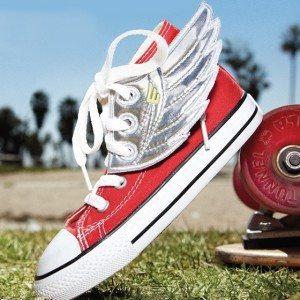 Vinger til skoene