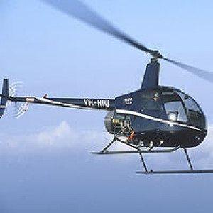 VIP-flyvning i helikopter for 3 personer - Fredericia