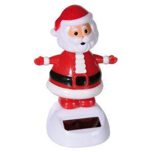 Wackelnder Solar-Weihnachtsmann