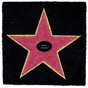 Walk of Fame - dørmåtte