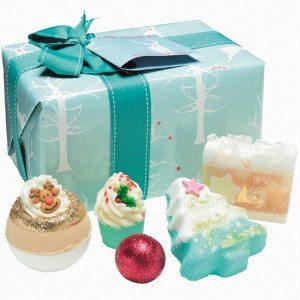 Winter Wonderland - gavesæt til badet
