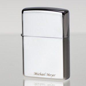Zippo Feuerzeug mit Namensgravur