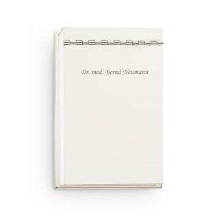 Notesblokholder med indgravering