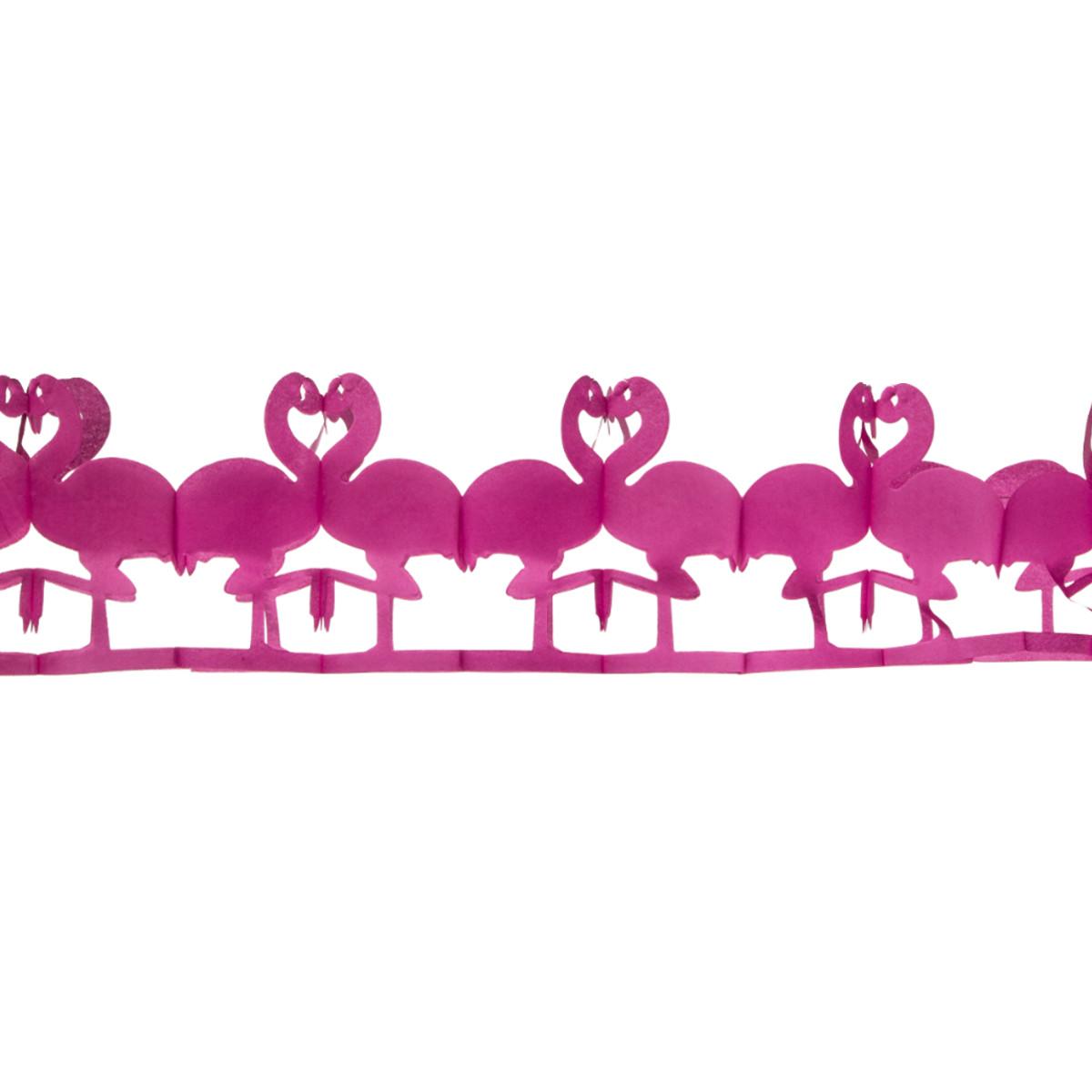 Flamingo papirguirlande